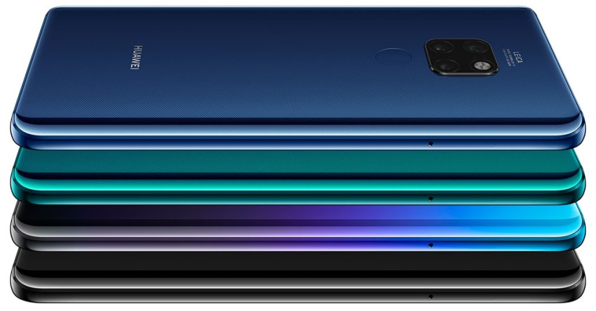Mate 20 Four Colors