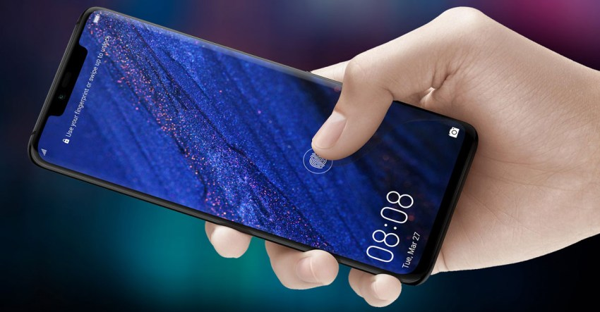 Mate 20 Pro In-Screen Fingerprint Sensor