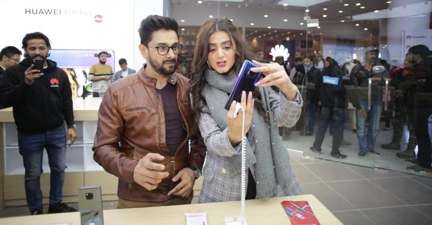 Mate 20 Pro at Huawei Experience Store Karachi