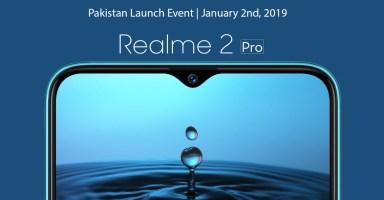 Realme 2 Pro Pakistan Launch