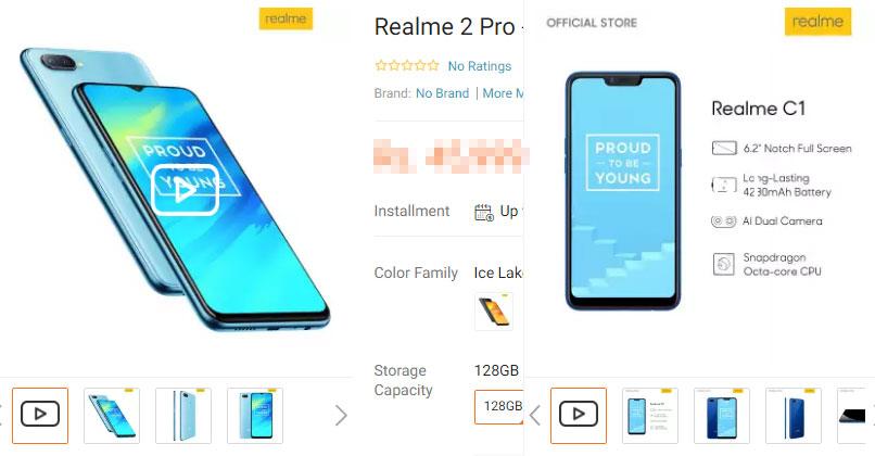 Realme 2 Pro C1 on Daraz