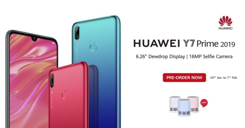 Huawei Y7 Prime 2019 Price in Pakistan