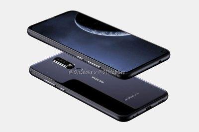Nokia 8.1 Plus Render
