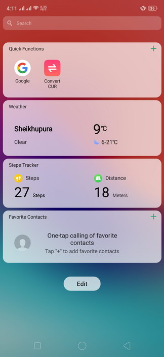 Realme 2 Pro ColorOS UI Smart Assistant