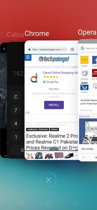 Realme 2 Pro ColorOS UI