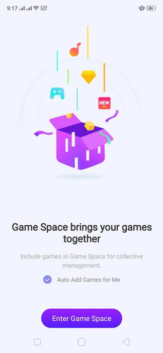 Realme 2 Pro ColorOS UI Game Space