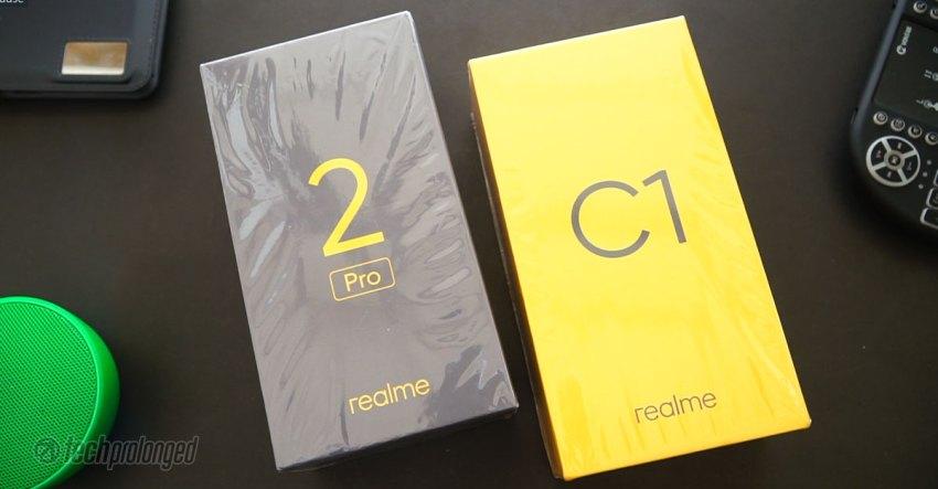 Realme 2 Pro & Realme C1