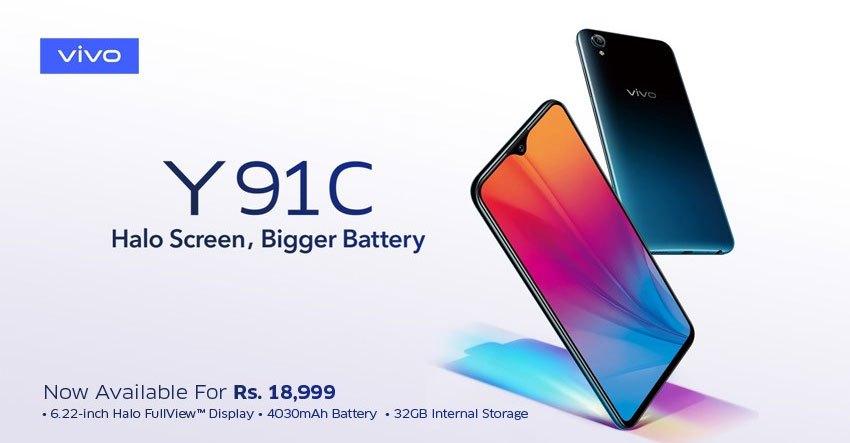 Vivo Y91C Pakistan Price