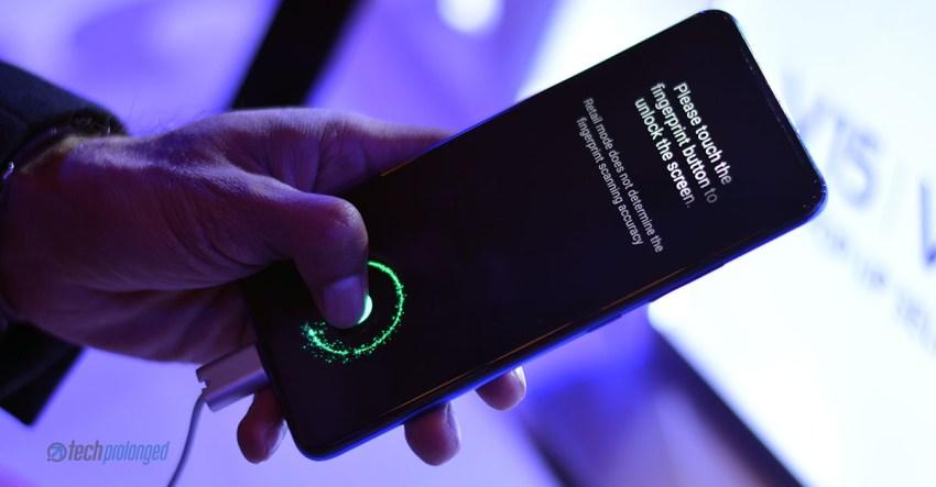 Vivo V15 Pro In-Display Fingerprint Sensor