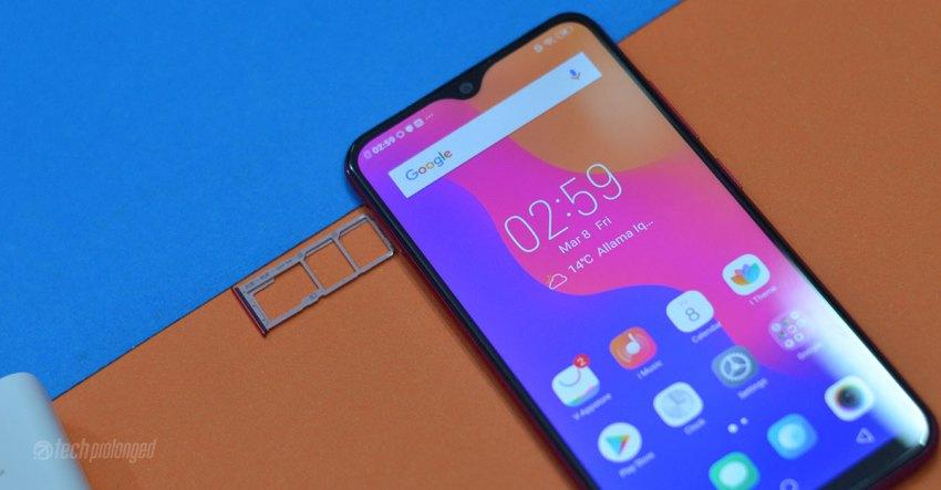Vivo Y91C Review Dual SIM microSD card