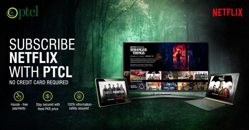 PTCL Netflix