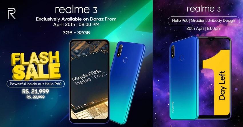 Realme 3 Flash Sale