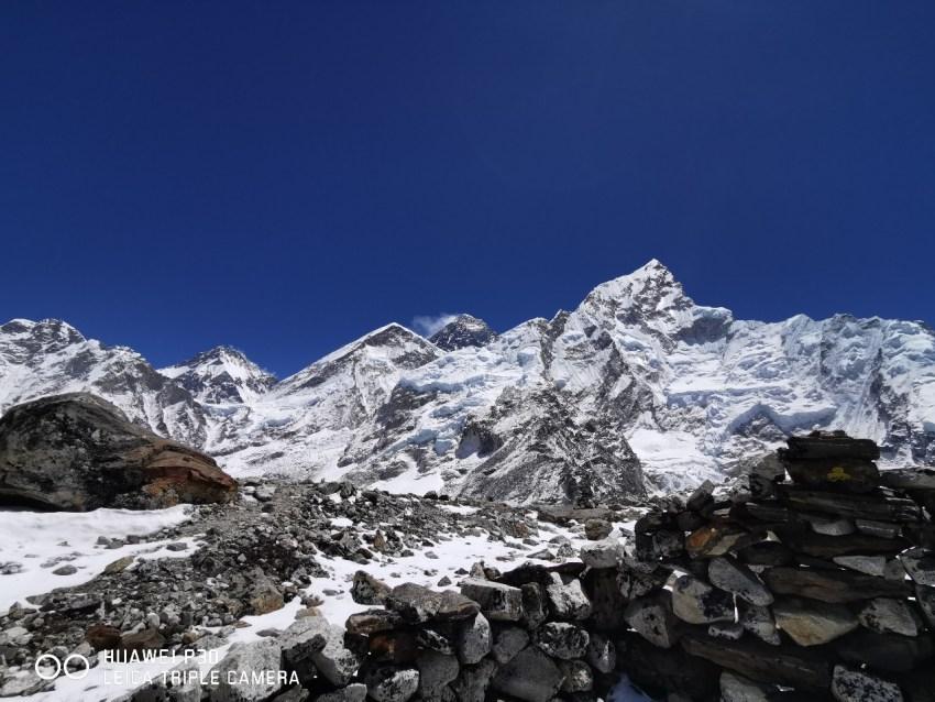 Huawei P30 Mount Everest Camera Sample