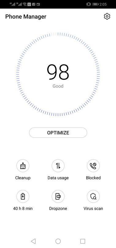 Huawei P30 lite review EMUI Software