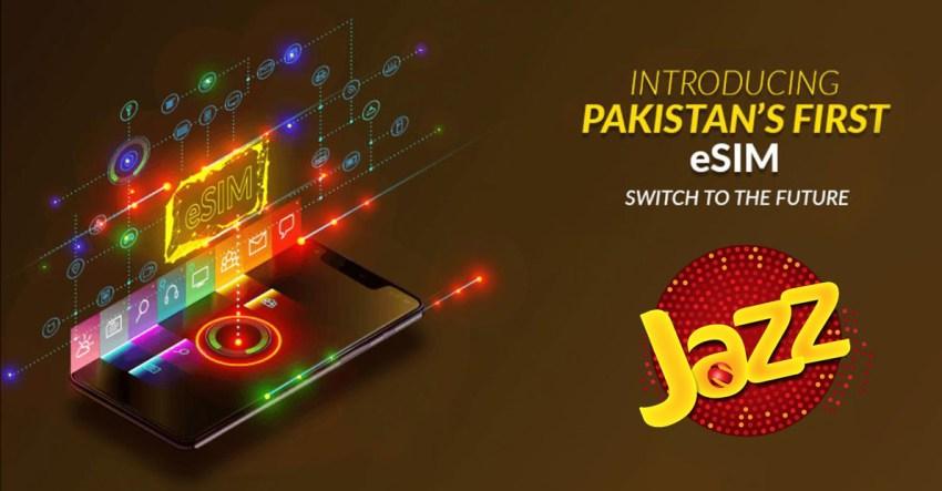 Jazz eSIM Pakistan