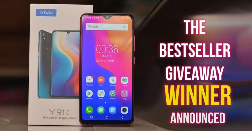 Winner Announced] Vivo's Bestseller Giveaway - Get a chance
