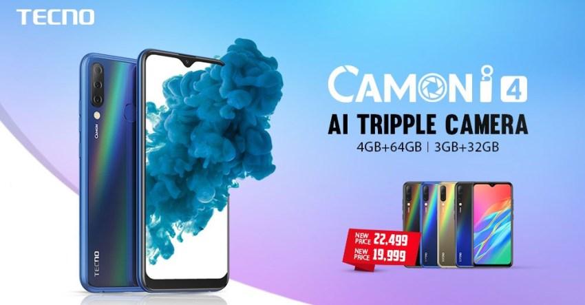 Tecno Camon i4 Price in Pakistan