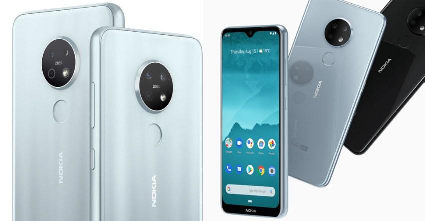 Nokia 7.2 and Nokia 6.2