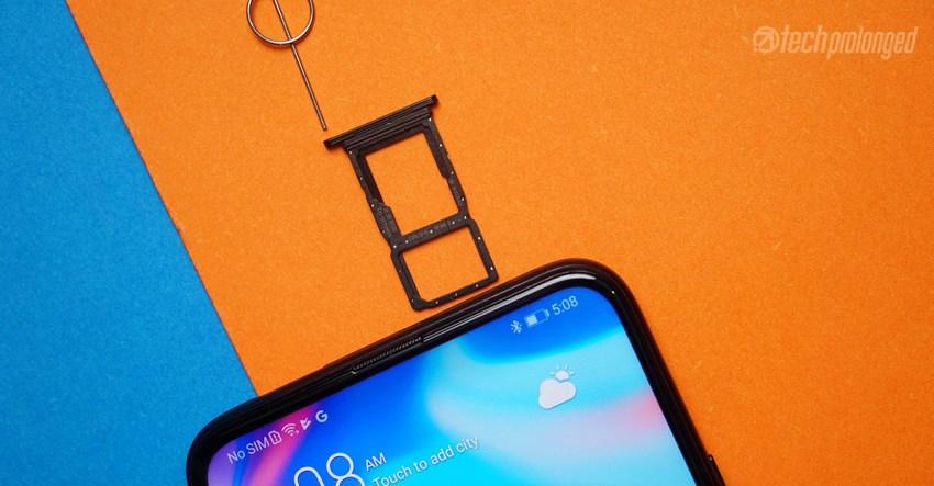 Huawei Y9s Dual SIM slot