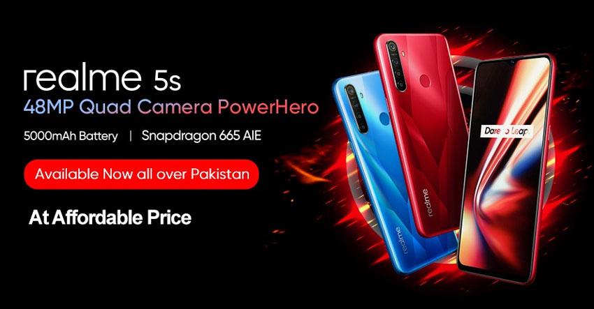 Realme 5s Price Pakistan