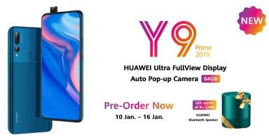 Huawei Y9 Prime 2019 64GB Pakistan