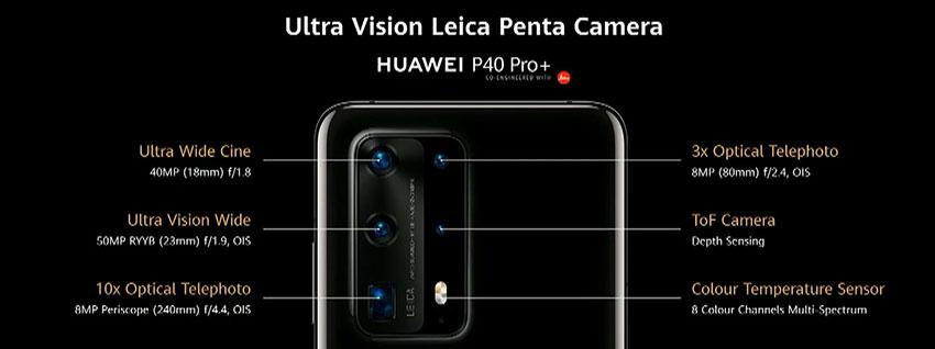 Huawei P40 Pro+ Penta Camera Setup