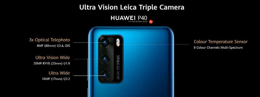 Huawei P40 Triple Camera Setup