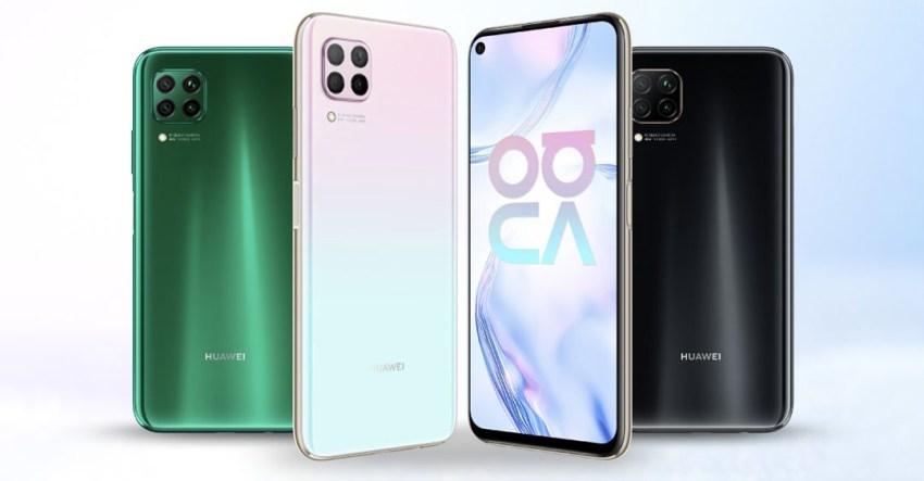 Huawei Nova 7i Colours