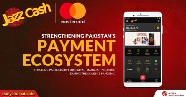 JazzCash Mastercard Pakistan