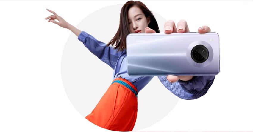 Huawei Y9a Camera
