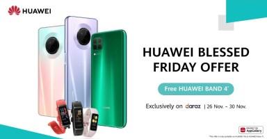 Huawei Y9a Nova 7i Band4 blessed friday