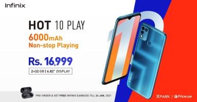 Infinix Hot 10 Play Price in Pakistan