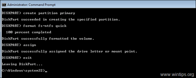 How to Format Hard Drive from Command Prompt or DISKPART.   Techprotips