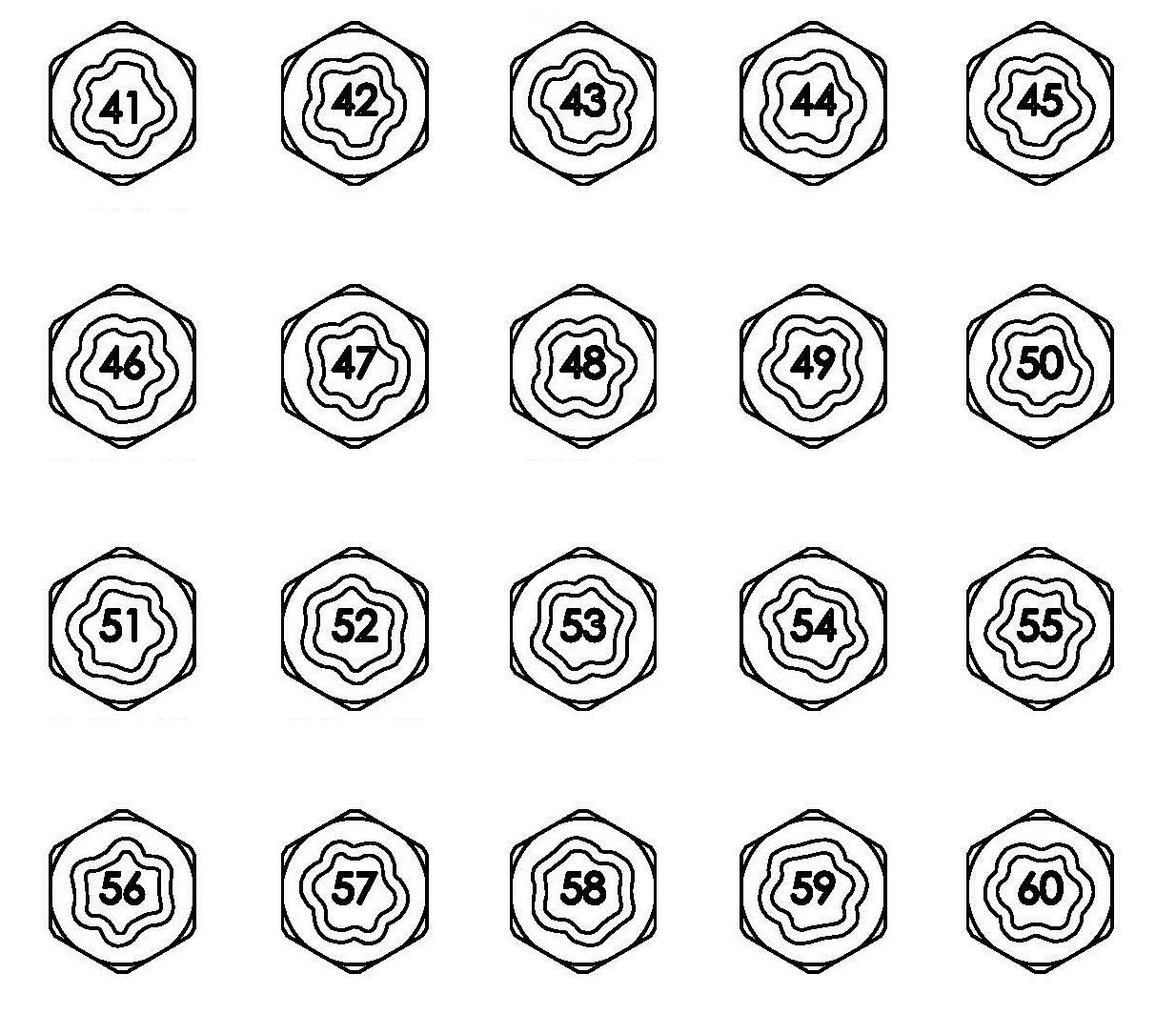 Tw 036 Wheel Lock Master Key Bmw Tw 036
