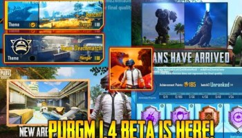PUBG Mobile 1.4 Global Beta Version Apk