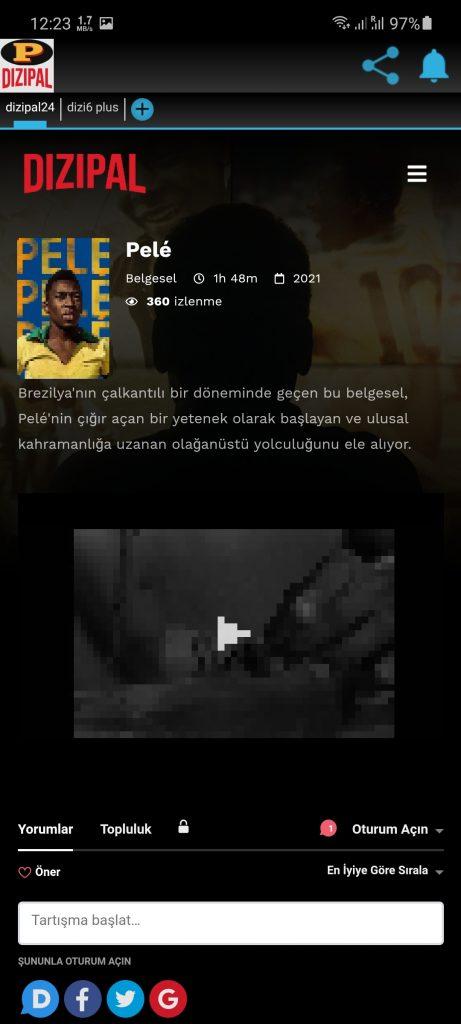 Screenshot of DiziPal 25