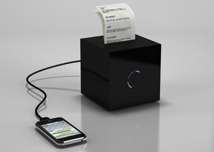 Blackbox-sms-printer