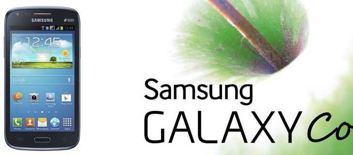 Samsung Galaxy Core unveiled, packs a not so pleasing specs