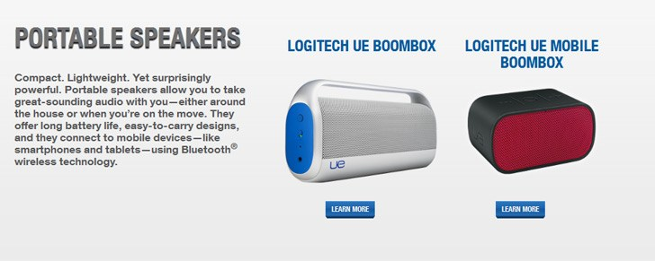 Logitech launches UE Boombox Bluetooth speakers in India