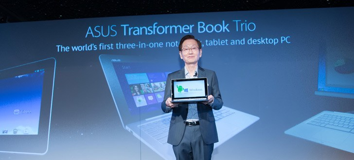 Asus at Computex 2013: Transformer Book Trio, Transformer Pad Infinity, Fonepad Note and more