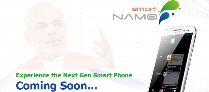 Coming soon Smart Namo, A Narendra Modi phone for his fans