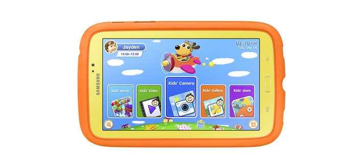 Samsung Galaxy Tab 3 kids announced with your little ones in mind