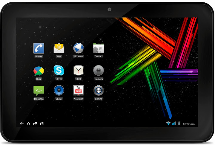 Mercury mTab10 launched, the company's first 10-inch tablet