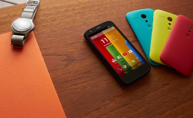 Moto G launched for $179; coming to India in January