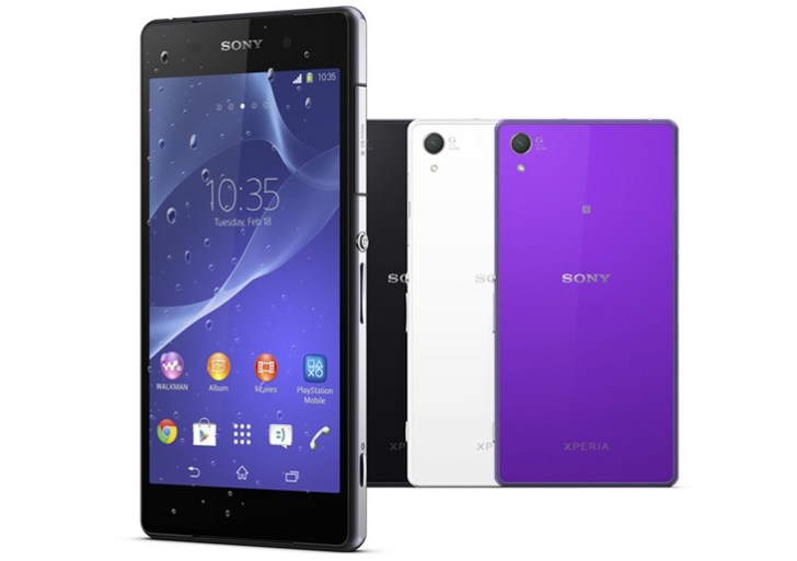 WMC 2014: Sony Xperia Z2 with 4K recording, rich display announced