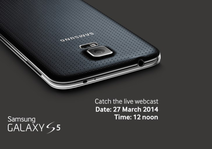 Watch Samsung Galaxy S5 India Launch Live Webcast