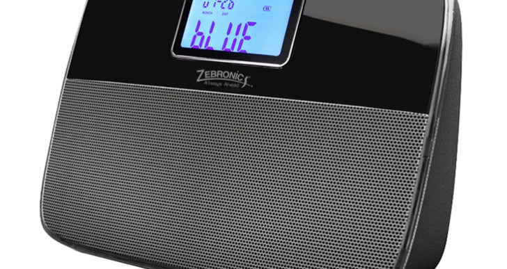 Zebronics Closic Bluetooth Speakers comes with Digital Alarm Clock, priced at Rs. 2299
