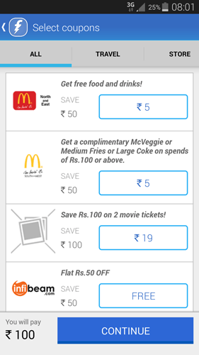 Freecharge-coupons