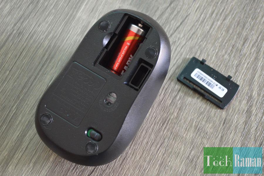 Rapoo-M10-battery