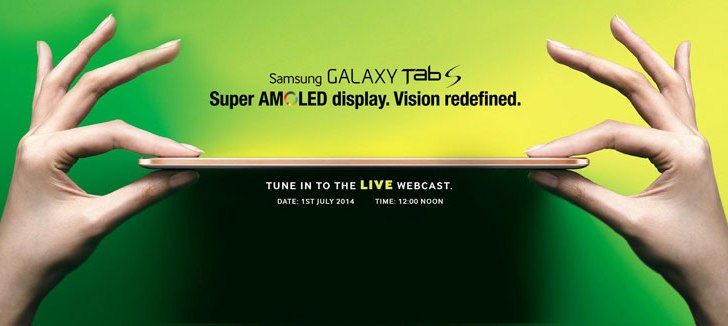 Watch Live: Samsung Galaxy Tab S launch event in India